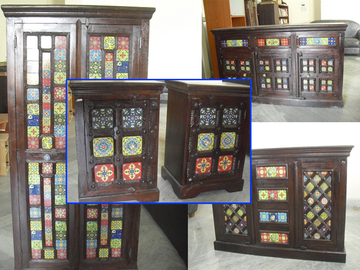 Ethnic Indian Furniture In Tile Design Second Hand Furniture Online
