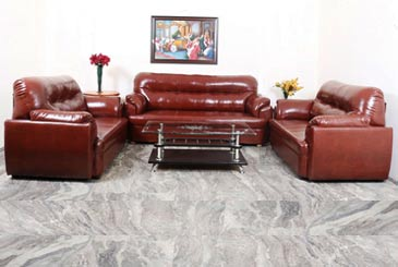 7 Seater Leather Sofa