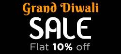 Grand Diwali Sale Flat 10% off