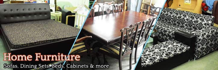 Second hand furniture in Noida Ghaziabad New Delhi  : home furniture slide image from usedfurnitures.in size 725 x 235 jpeg 46kB
