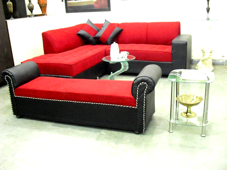 L Shape Sofa With Settee