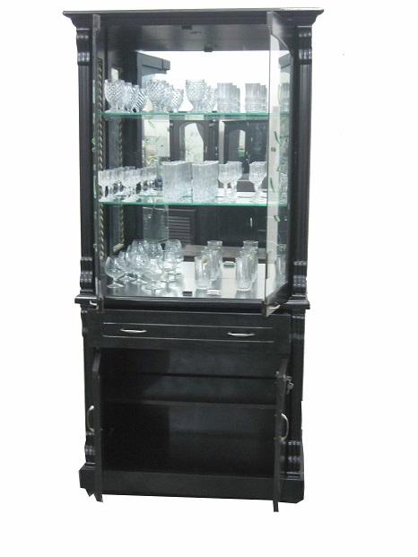 Crockery Cabinet Cum Bar Used Furniture For Sale