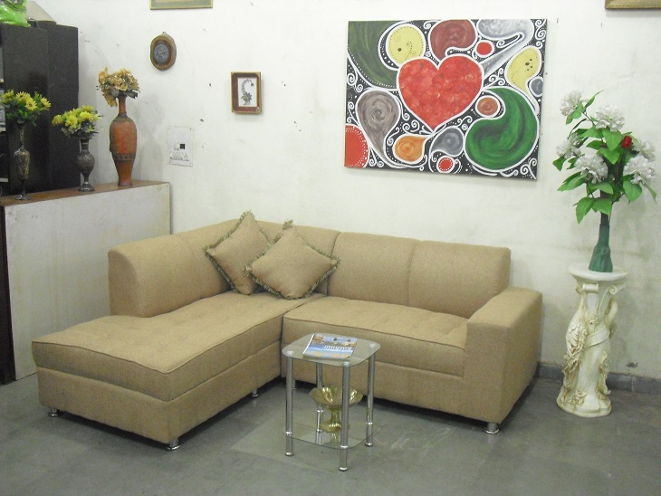 5 seater l shaped sofa with settee used furniture for sale. Black Bedroom Furniture Sets. Home Design Ideas