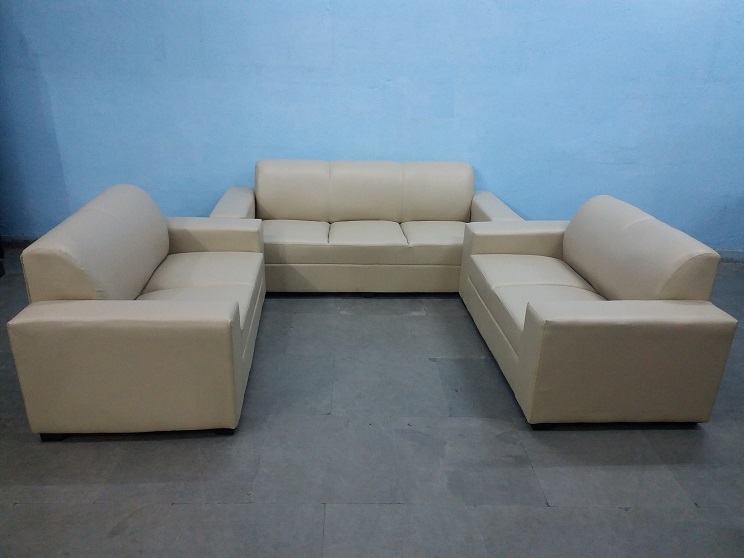 7 seater cream sofa set used furniture for sale for Sofa 7 seater