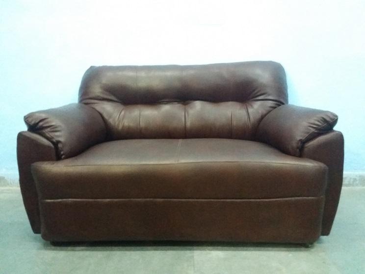 5 Seater Leather Sofa Set Used Furniture For Sale