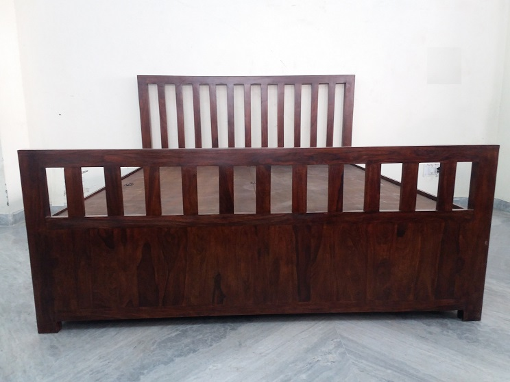 Sheesham Wood Double Bed