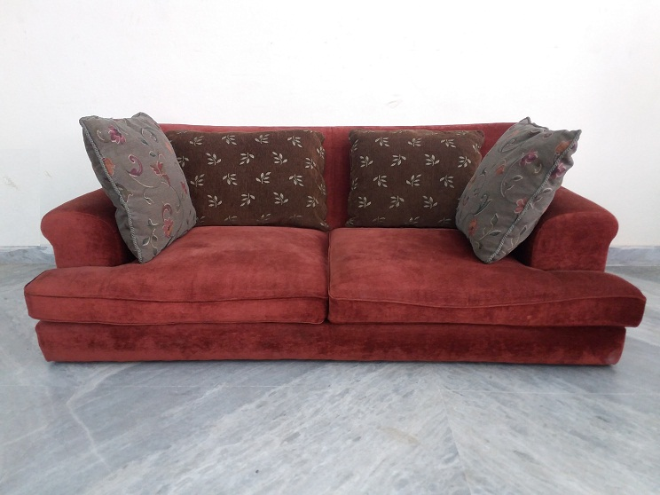3 seater low height sofa used furniture for sale for Low height sectional sofa