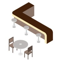 Bar Table & Chair