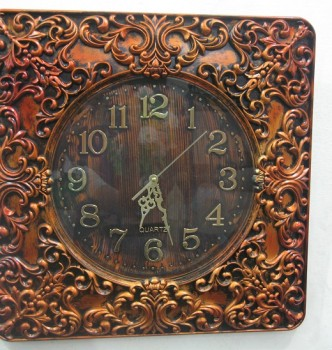used Antique Style Wall Clock