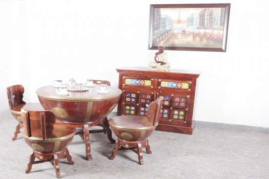 used 4 Chair Nagada Dining Table