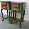 second handRajasthani Side Table