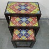 second handSet of 3 Rajasthani Stool