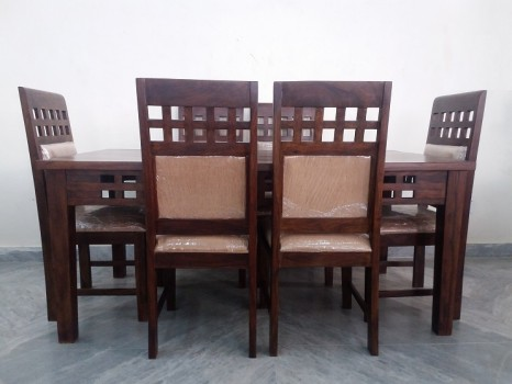 used 6 Chair Sheesham Dining Table