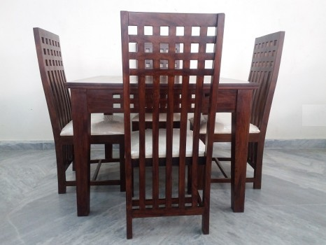 used 4 Chair Sheesham Dining Table