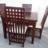 4 Chair Sheesham Dining Table