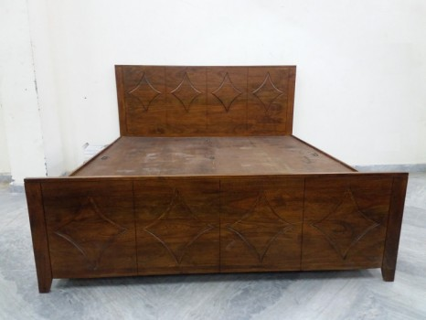 used Sheesham Wood Box Bed