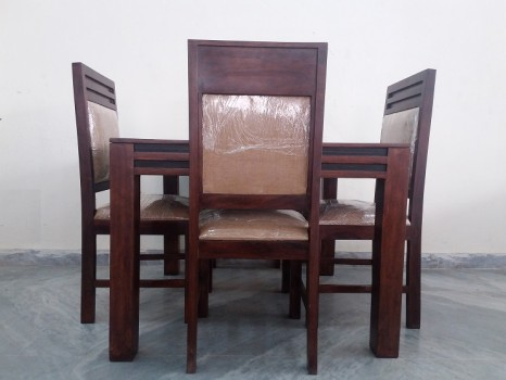 used Sheesham Wood 4 Chair Dining