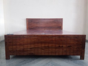 used Sheesham Wood Bed Set