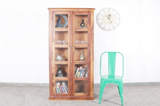 used Solid Wood Showcase