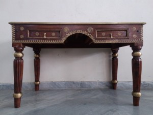 used Sheesham Wood Study Table