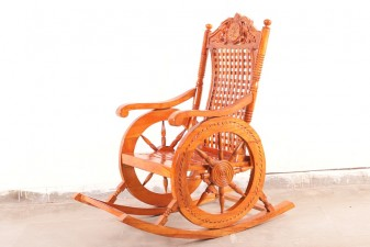 used Sheesham Wood Chair