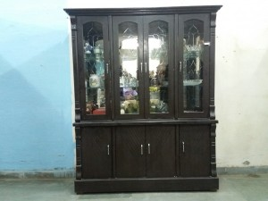 used Wooden Crockery Cabinet