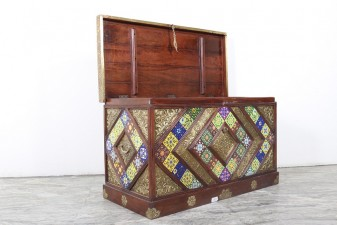 used Brass & Tile Fitted Trunk