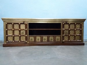 used Low Height Cabinet Brass Fitted