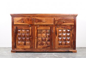 used Solid Wood Diamond Chest