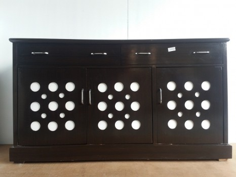 used 5 Ft White Circle Chest