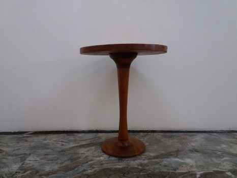 used WD Round Side Table