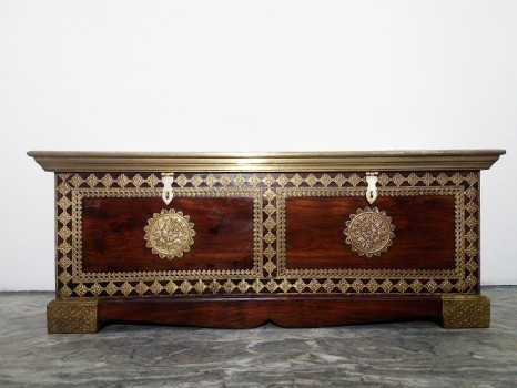 used Brass Fitted Trunk 4 FT