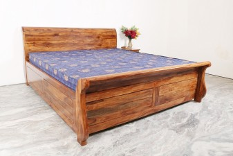 used Round Back Double Bed