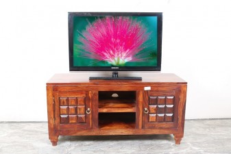 used Solid Wood Low TV Cabinet