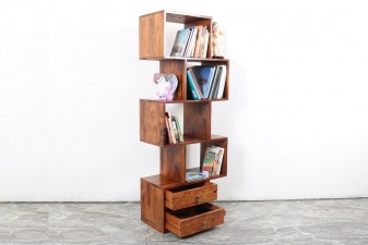 used Book Rack Zig Zag
