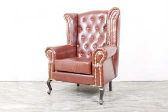 used High Back Leather Chair