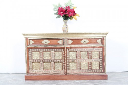used Brass Fitted Shm Chest
