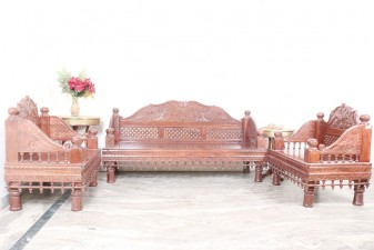 used 5 Seater Carving Sofa