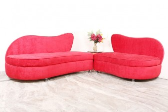 used 5 Seater Loveseat Sofa