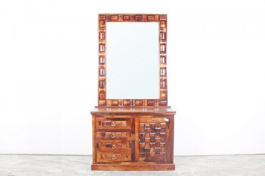 used Solid Wood Mirror Console