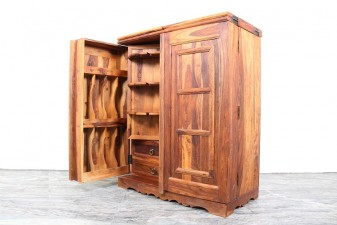 used Wooden Bar Cabinet
