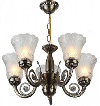 used Chandelier Light 5 Bulb