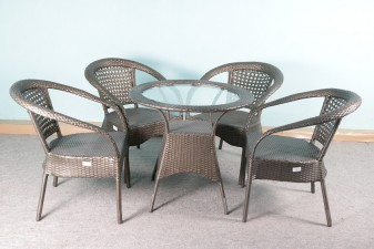 used Garden Table with 4 Chair