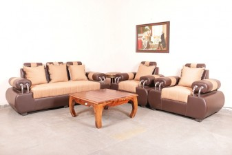used Fabric & Leatherite Sofa