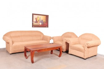 used 5 Seater Fabric Sofa Set