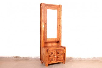used Sheesham wood Dressing Table