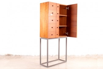 used Storage Cabinet with Stand
