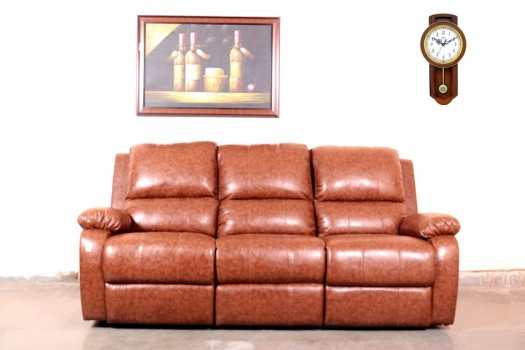 used 3 Seater Leather Recliner