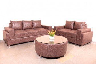 used 5 Seater Da Vinci Sofa with Table