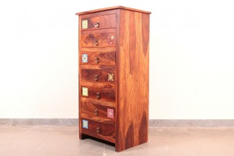 used 7 Droz Wooden Storage Unit